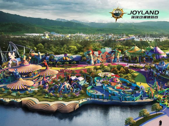 Joyland-themepark-china-moles-world